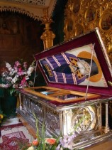 Рака с мощами святителя Луки Войно-Ясенецкого