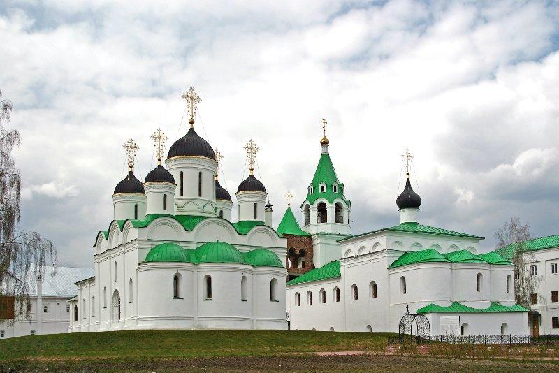 Муром Спасо-Преображенский монастырь