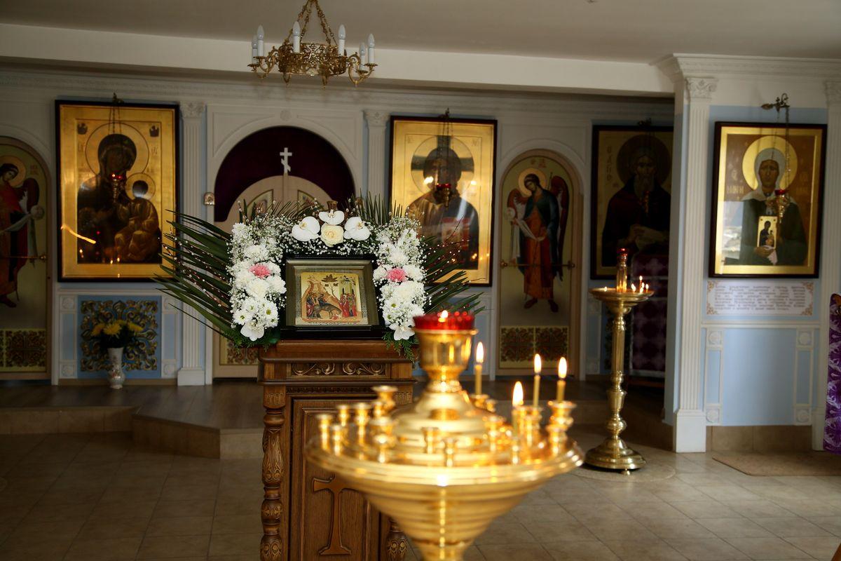 Приход храма Иверской иконы Божией Матери