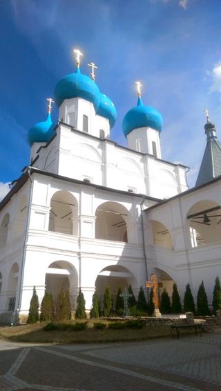 Серпуховскиой Высоцкий мужской монастырь снизу