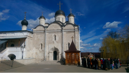 Серпуховской Владычний женский монастырь.
