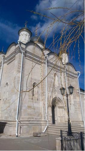 серпуховской Владычний женский монастырь вход